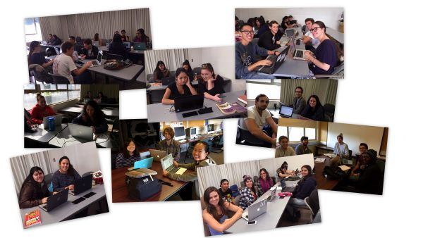 Collage of Student Project Teams